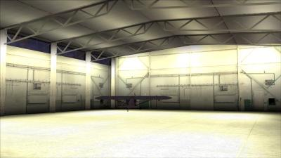 3D Hangar Interior Wallpaper 64293