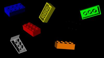 3D Lego Desktop Wallpaper 64221