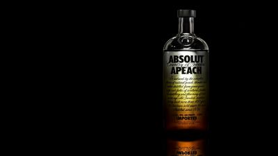 Absolut Peach Vodka Wallpaper 66291