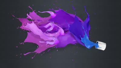 Abstract Paint Splash Wallpaper 62592