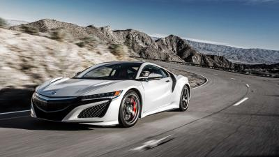 Acura NSX Rolling Shot Wallpaper 63396