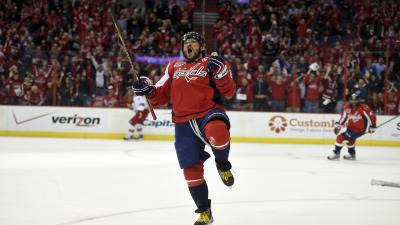 Alexander Ovechkin Celebrating Wallpaper 63951