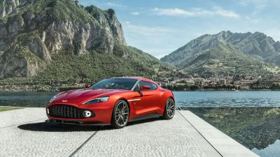 Aston Martin Vanquish Widescreen Wallpaper 63484