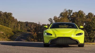 Aston Martin Vantage Front Wallpaper 63490
