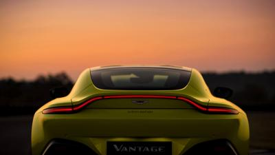 Aston Martin Vantage Rear HD Wallpaper 63488