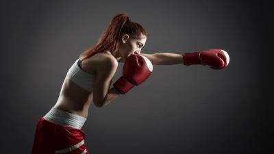 Boxing Female Wallpaper 62529