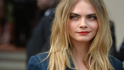 Cara Delevingne Celebrity Makeup Lipstick Wallpaper 64672