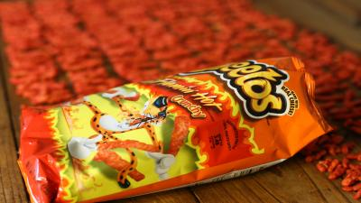 Cheetos Crunchy Flamin Hot Widescreen HD Wallpaper 62677