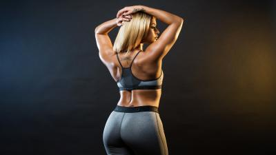 Fitness Woman Computer Wallpaper 64774