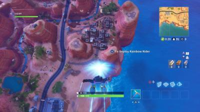 Fortnite Diving HD Wallpaper 64401