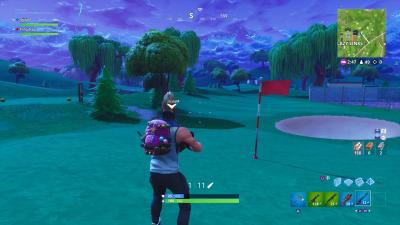 Fortnite Lazy Links Golf Course Wallpaper 64511