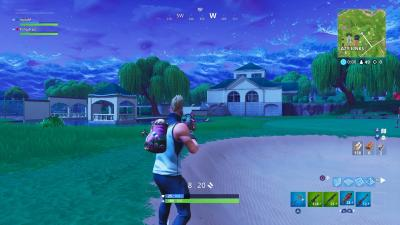 Fortnite Lazy Links HD Computer Wallpaper 64510