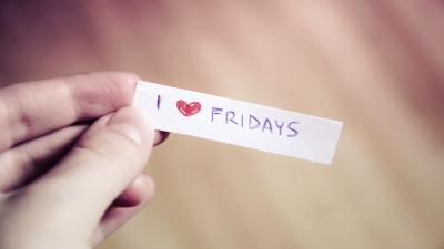 I Love Fridays Note Wallpaper 64227