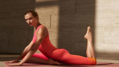 Karlie Kloss Yoga HD Wallpaper 64434
