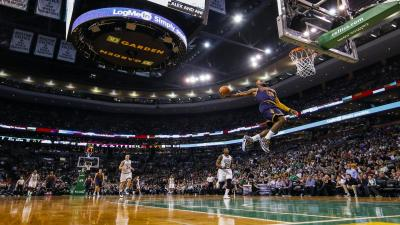 Lebron James Dunk Desktop Wallpaper HD 62944