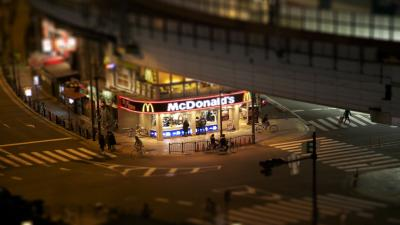 McDonalds Store Photography Wallpaper Background 62669