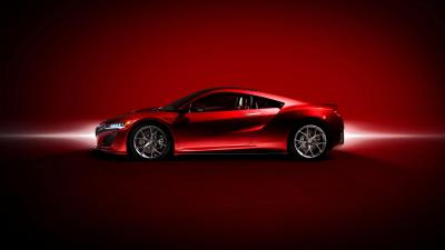 Red Acura NSX Wallpaper Background 63392