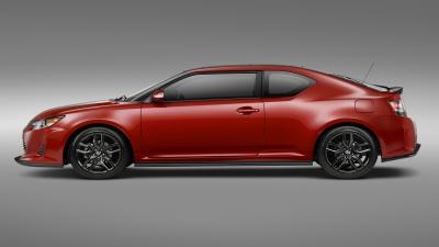 Red Scion tC Desktop Wallpaper 64805