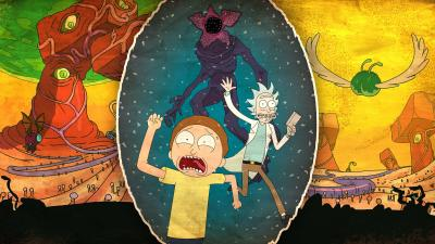 Rick and Morty Artwork Wide Wallpaper 63914