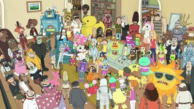 Rick and Morty Characters HD Wallpaper 63926