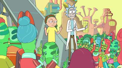 Rick and Morty Peace Wallpaper 63915