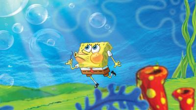 Spongebob Squarepants Bubbles Wallpaper Background HD 64386