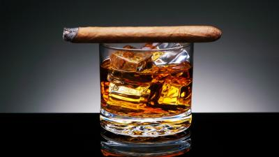Whisky and Cigar Wallpaper 66299