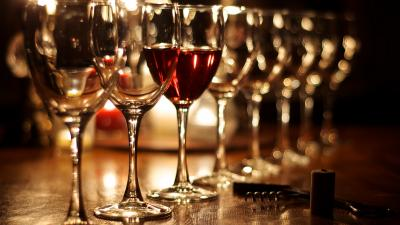Wine Glasses Widescreen Wallpaper 62575
