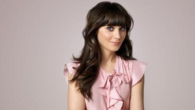 Zooey Deschanel Makeup Wide Wallpaper 63500