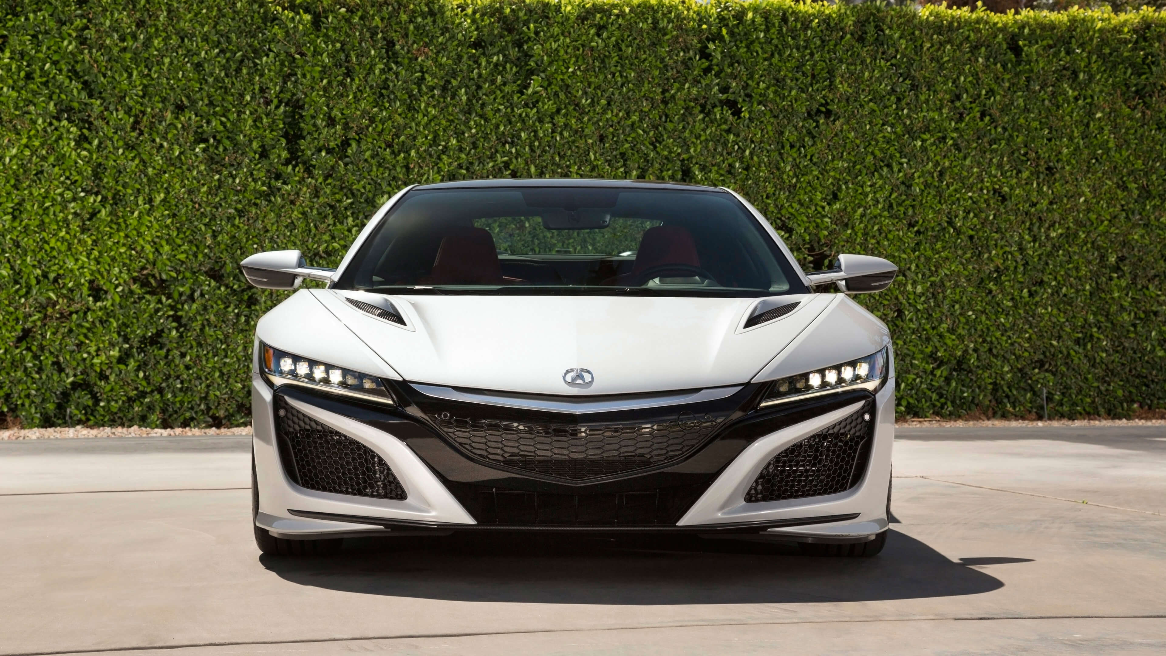 white acura nsx hd wallpaper background 63387