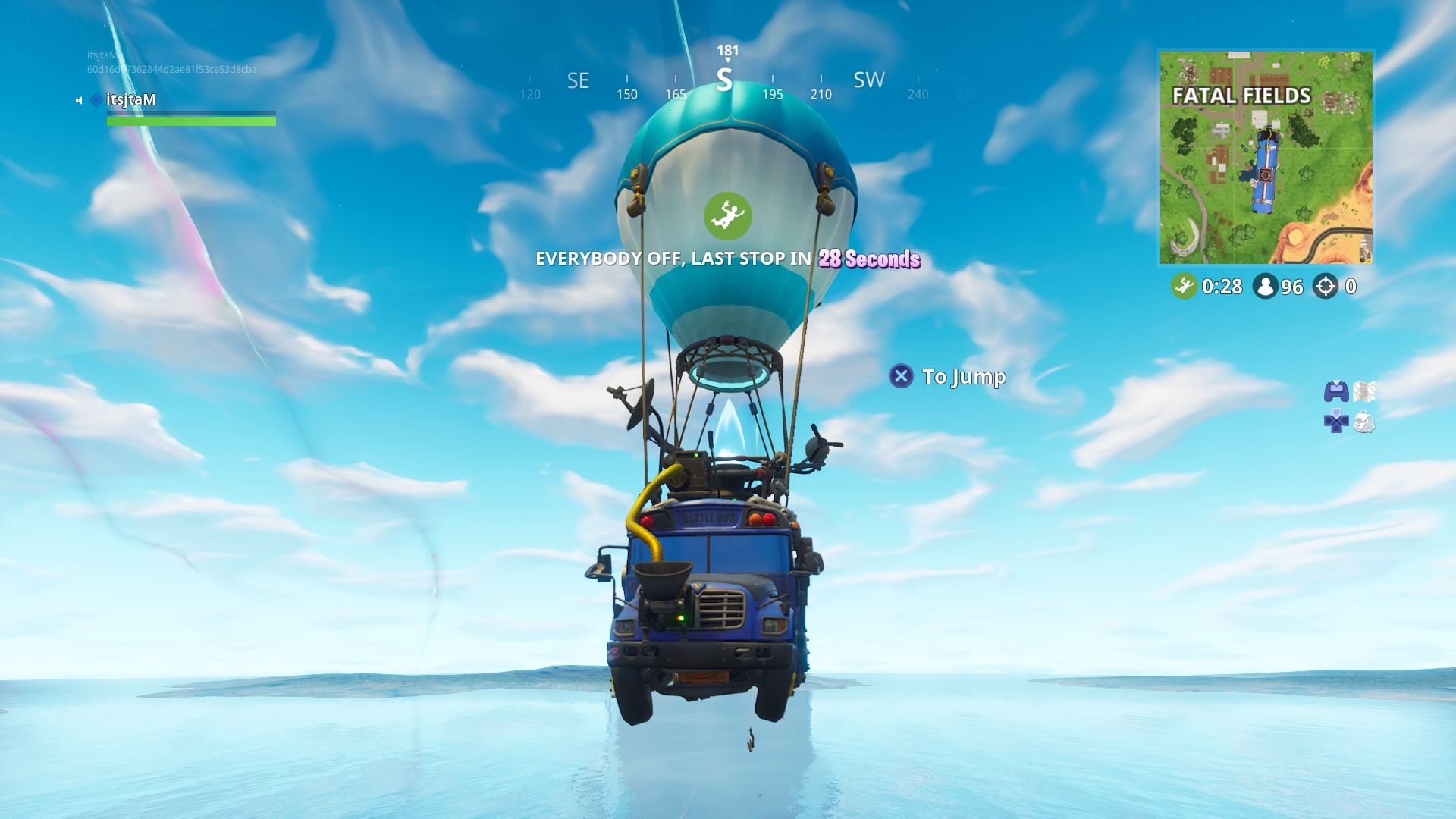 Fortnite Battle Bus Computer Wallpaper 64816
