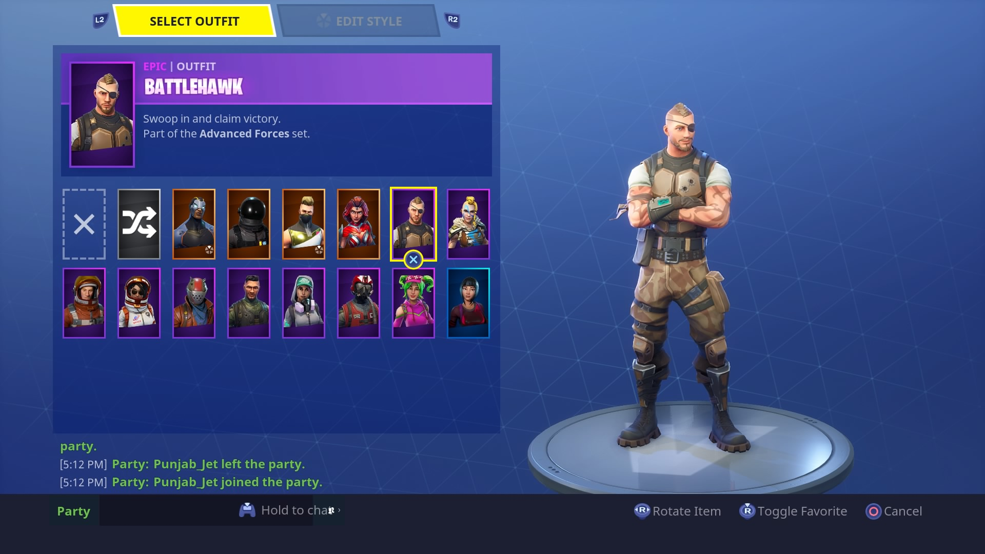 fortnite battlehawk skin hd wallpaper 64376