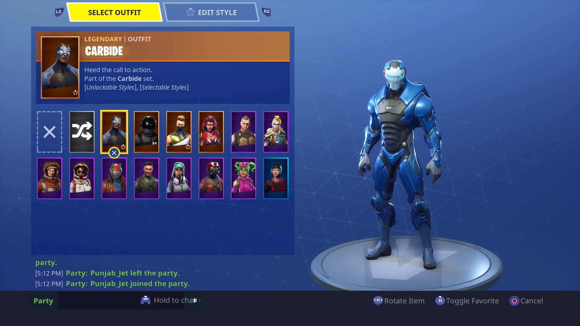 fortnite carbide skin hd wallpaper 64372