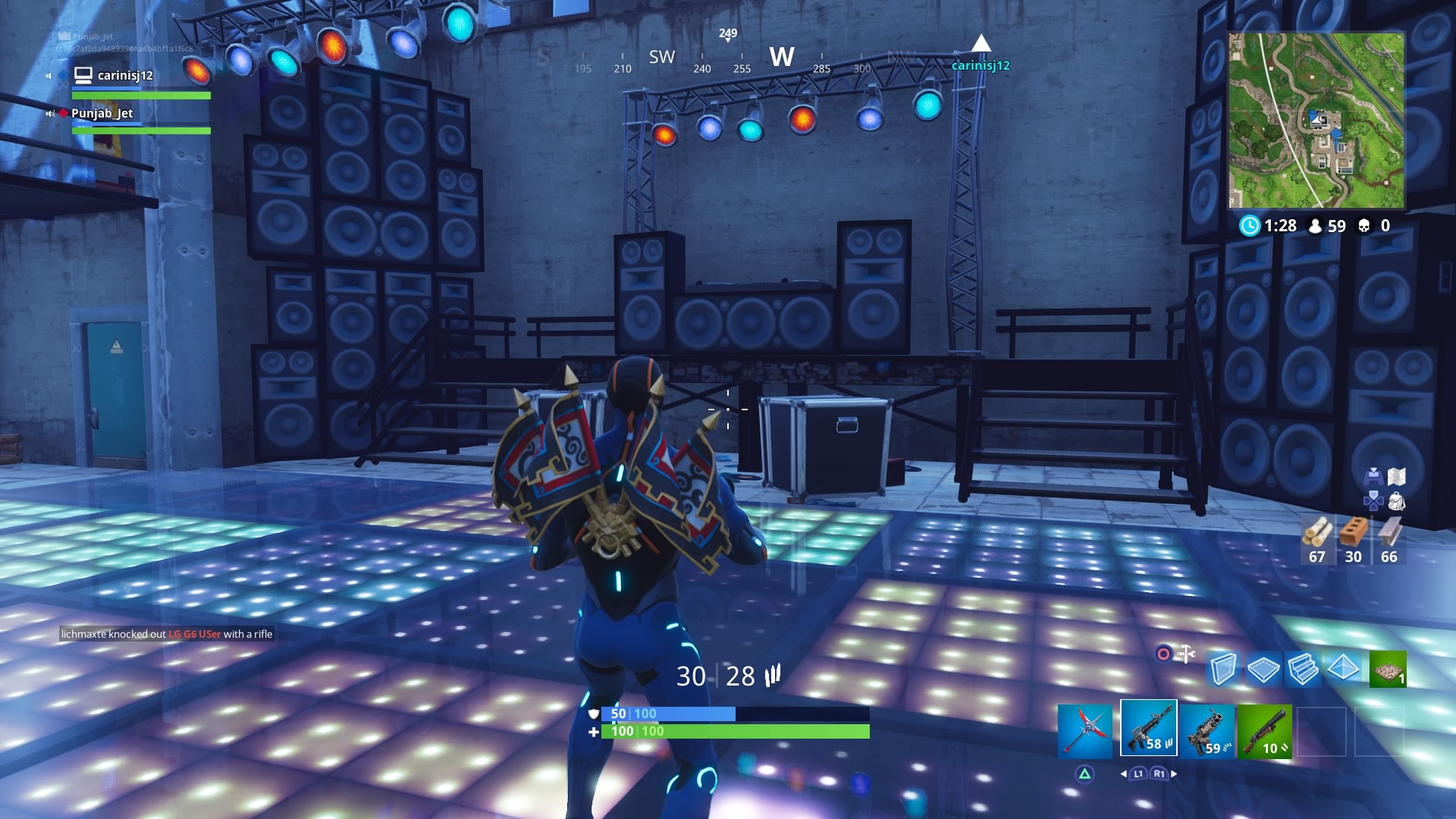 fortnite dance floor challenge wallpaper 63811