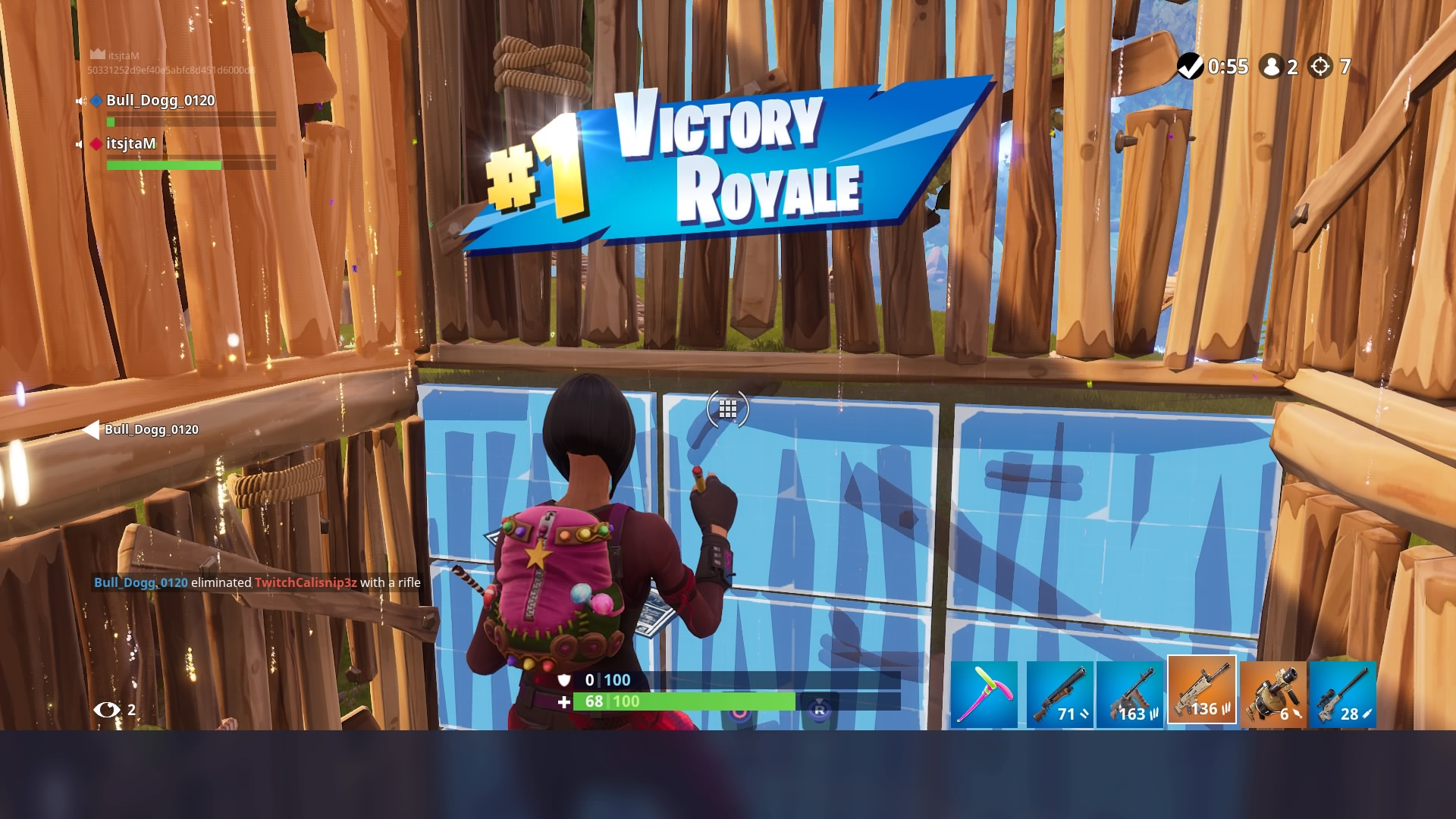 fortnite duos victory royale wallpaper 64811