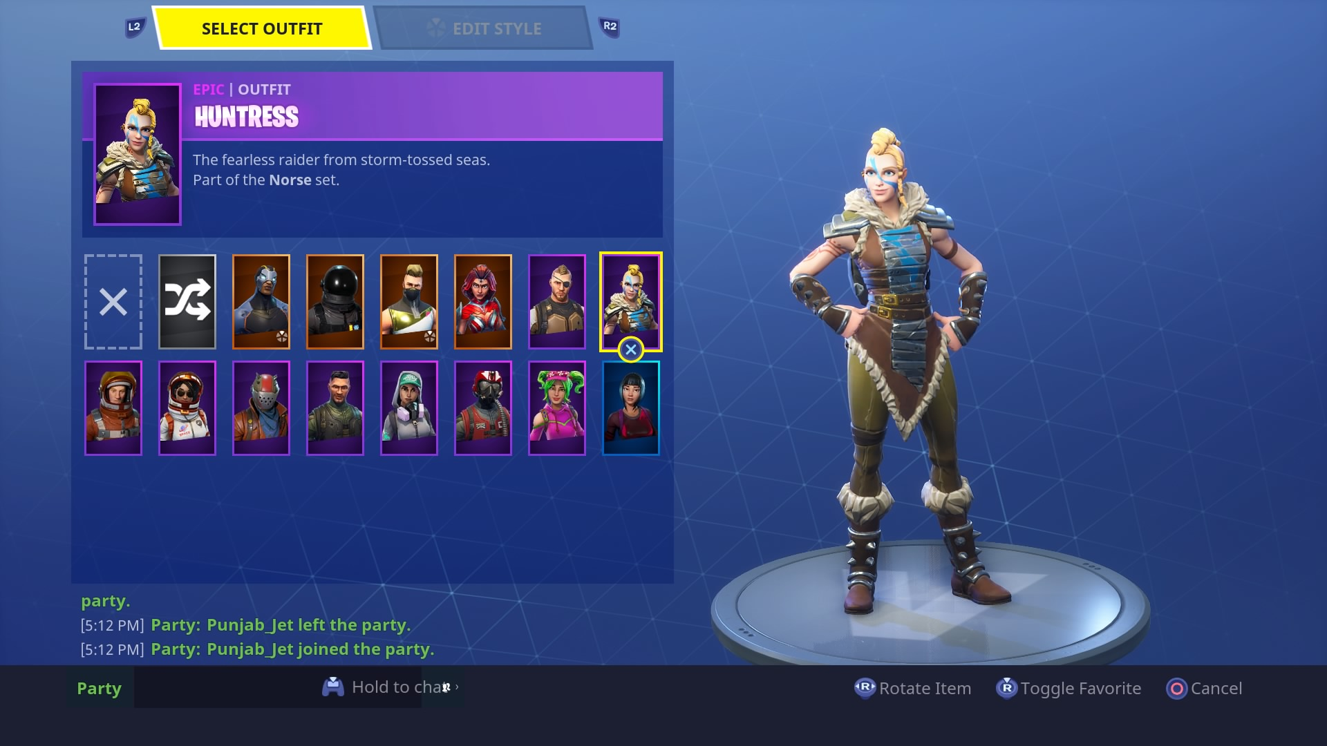 fortnite huntress skin hd wallpaper 64377