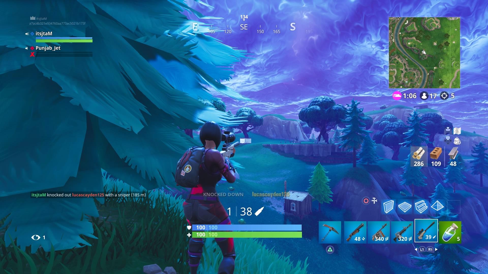 fortnite long sniper shot wallpaper 64822