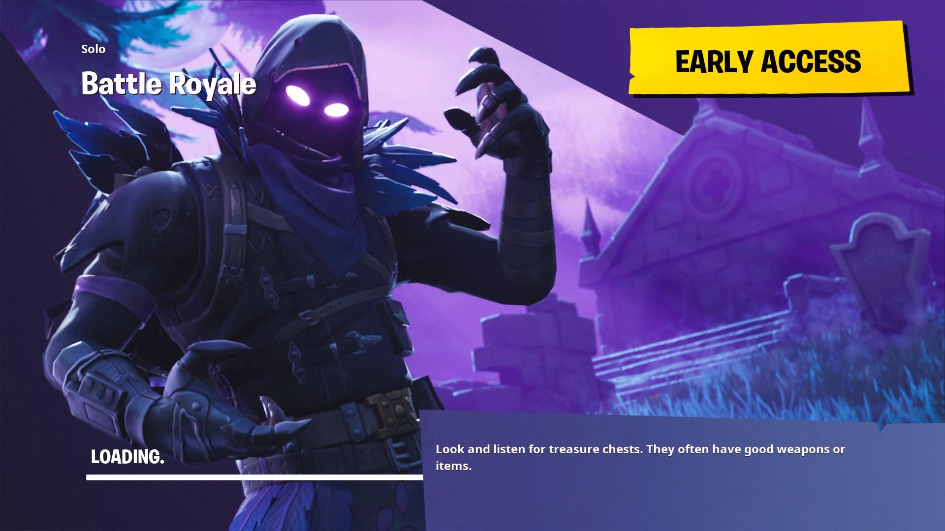Fortnite Wallpaper Raven