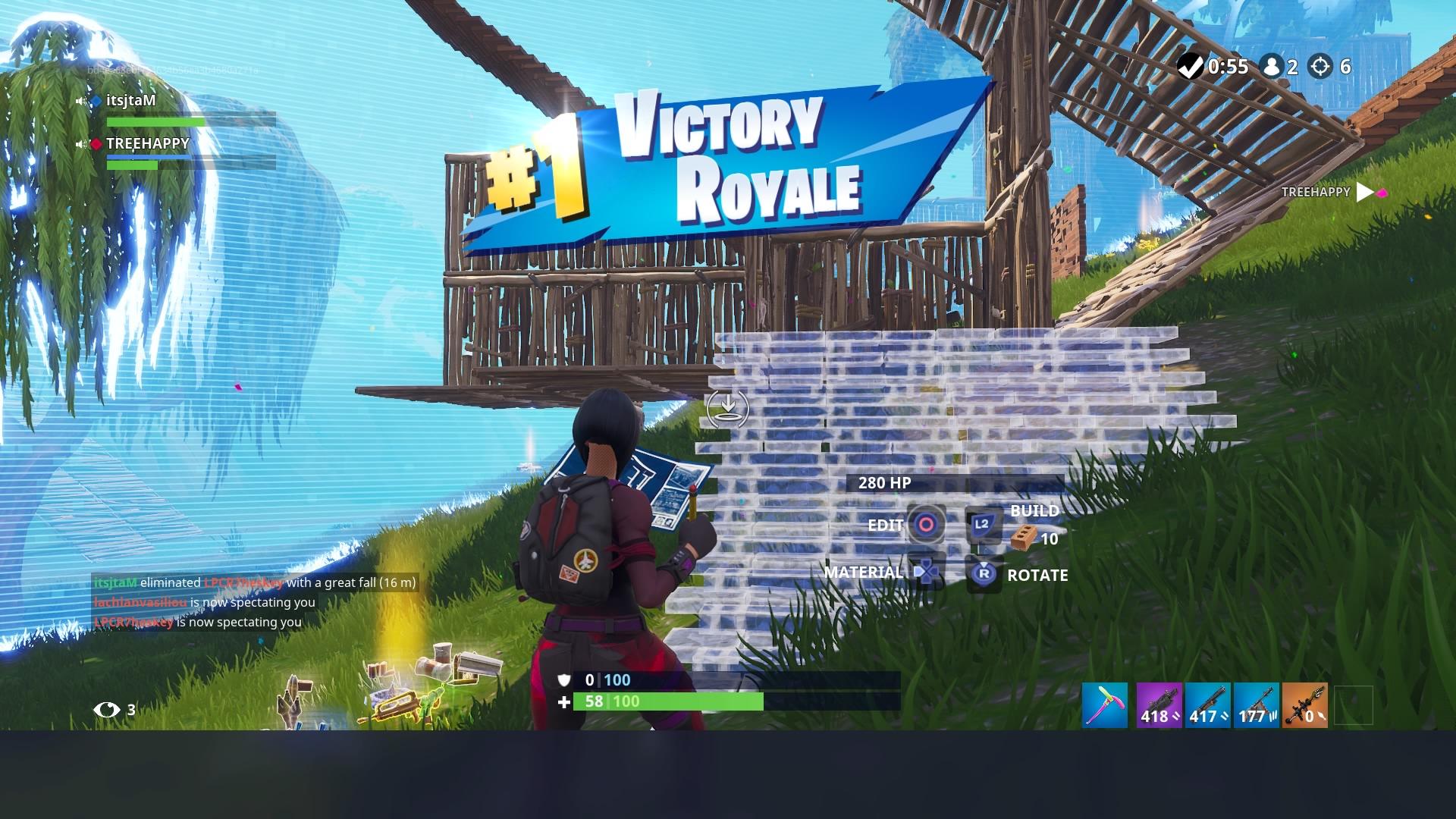 fortnite season 5 victory royale hd wallpaper 64385