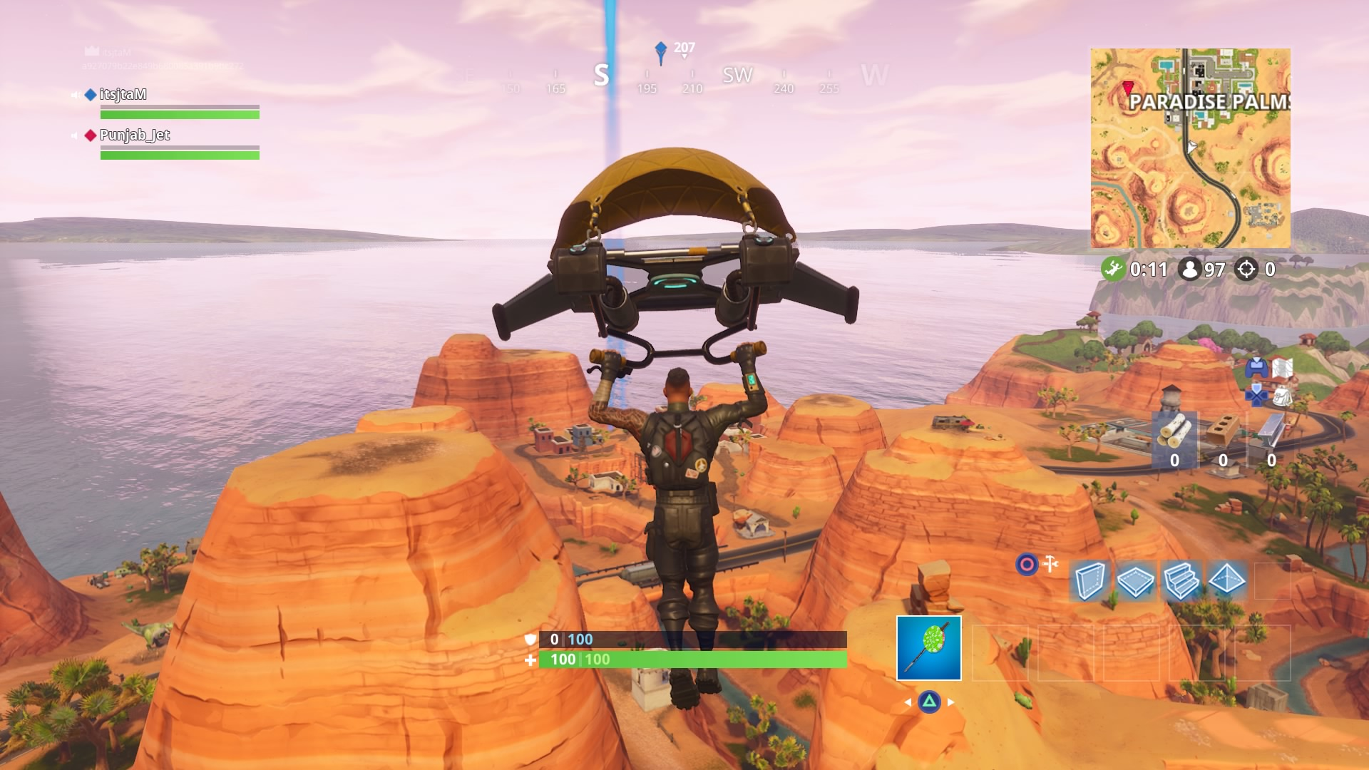 fortnite season 5 yellow glider hd wallpaper 64371