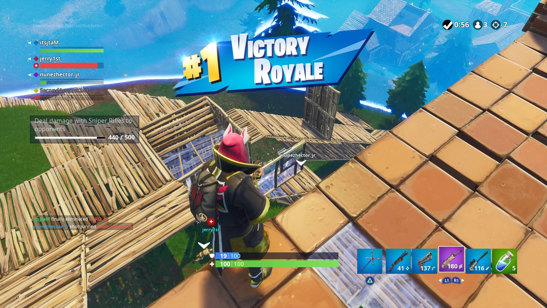 fortnite squad victory wallpaper 64841