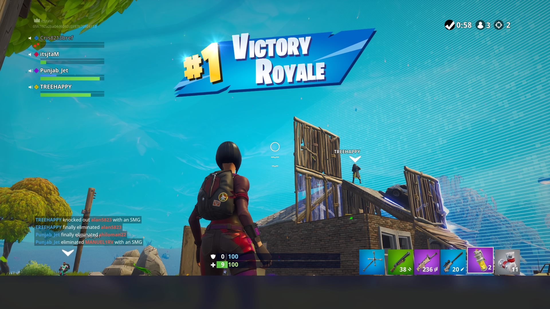 Fortnite Victory Royale Desktop Wallpaper 64827 1920x1080px