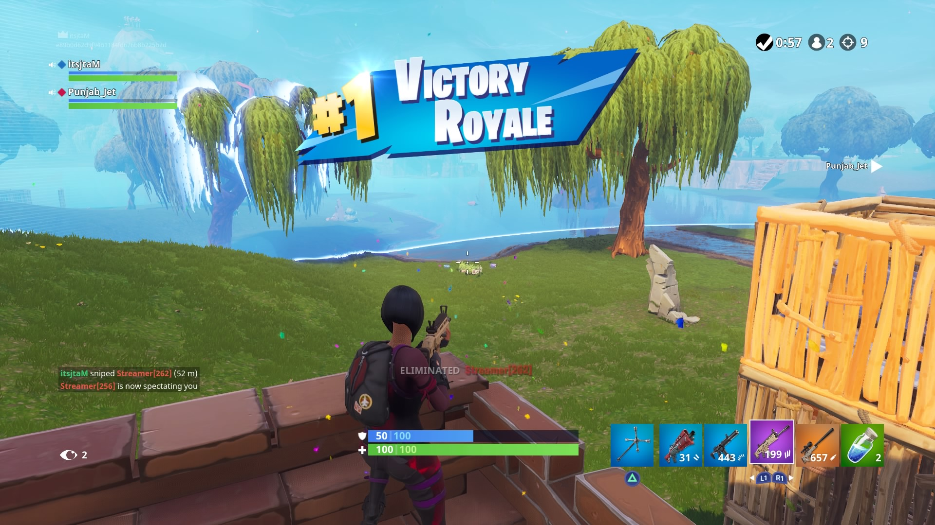 fortnite victory royale hd wallpaper 64825