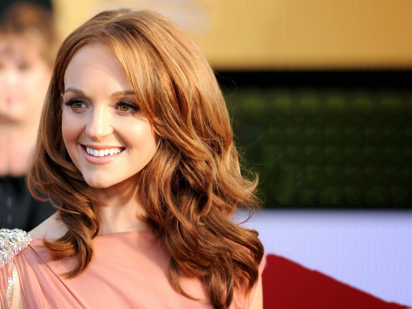 jayma mays smile computer wallpaper 64035