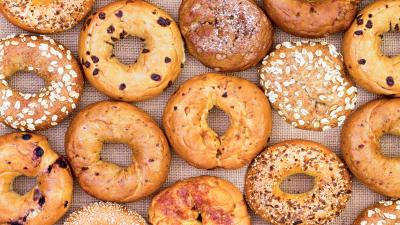Bagel Assortment Wallpaper Background 62968