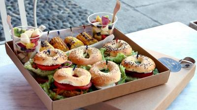 Bagel Sandwiches HD Wallpaper 62963