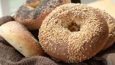 Bagel Up Close Wallpaper 62964