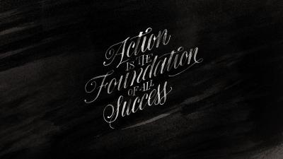 Calligraphy Success Quote Wallpaper Background 62878
