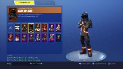 Fortnite Dark Voyager Skin HD Wallpaper 64373