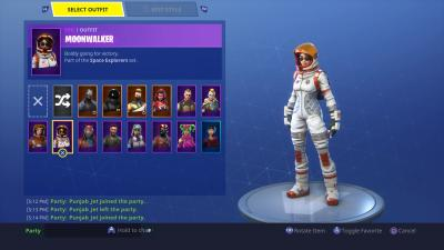 Fortnite Moonwalker Skin HD Wallpaper 64383